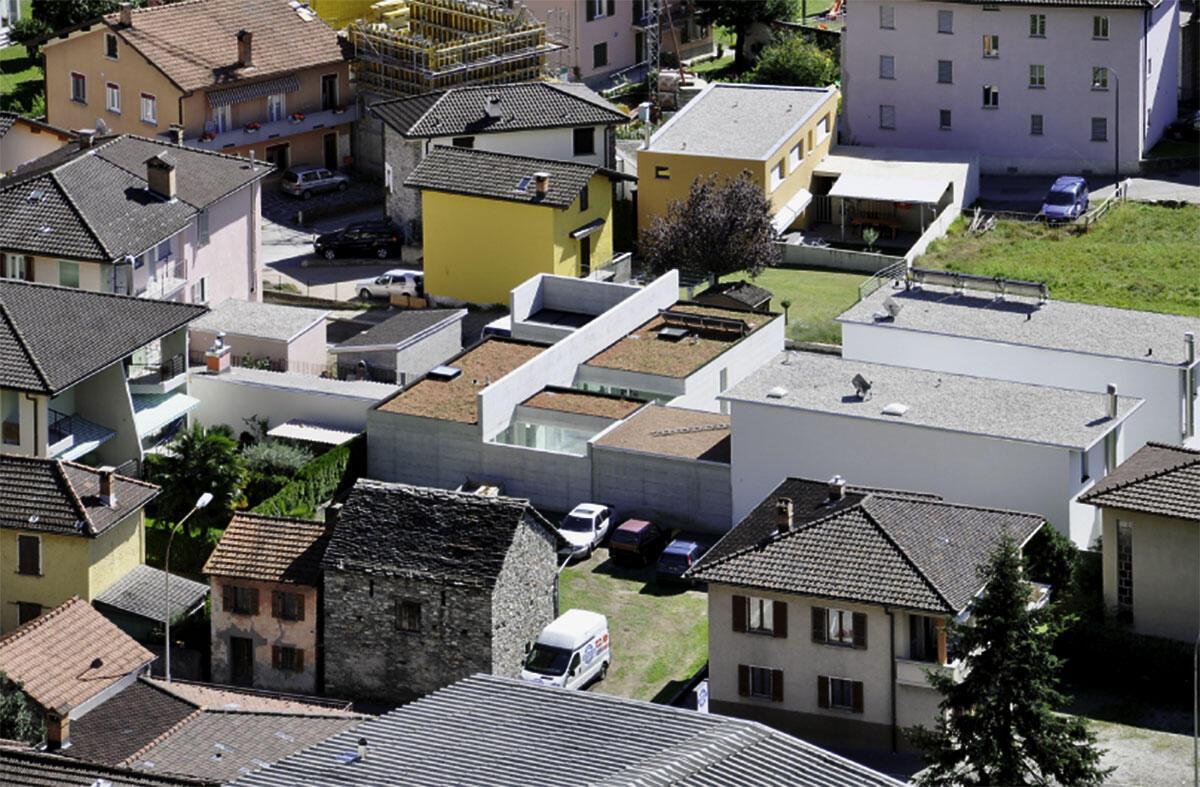 Casa Fiorini, Giacomo und Riccarda Guidotti, 2010.