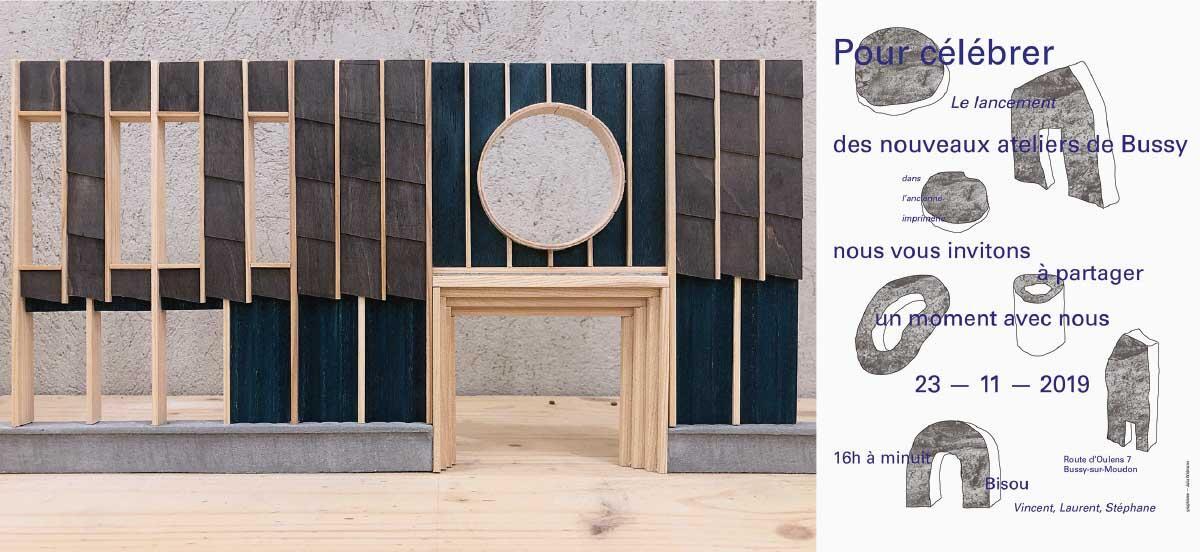 Les Ateliers de Bussy, Bussy-sur-Moudon: Nach dem Vorbild von Assemble Studio aus London entsteht im ländlichen Bussy ein interdisziplinärer kreativer Think-Tank. Es soll auch Architektur gemacht werden. Aber nicht nur. Bild: Atelier 17