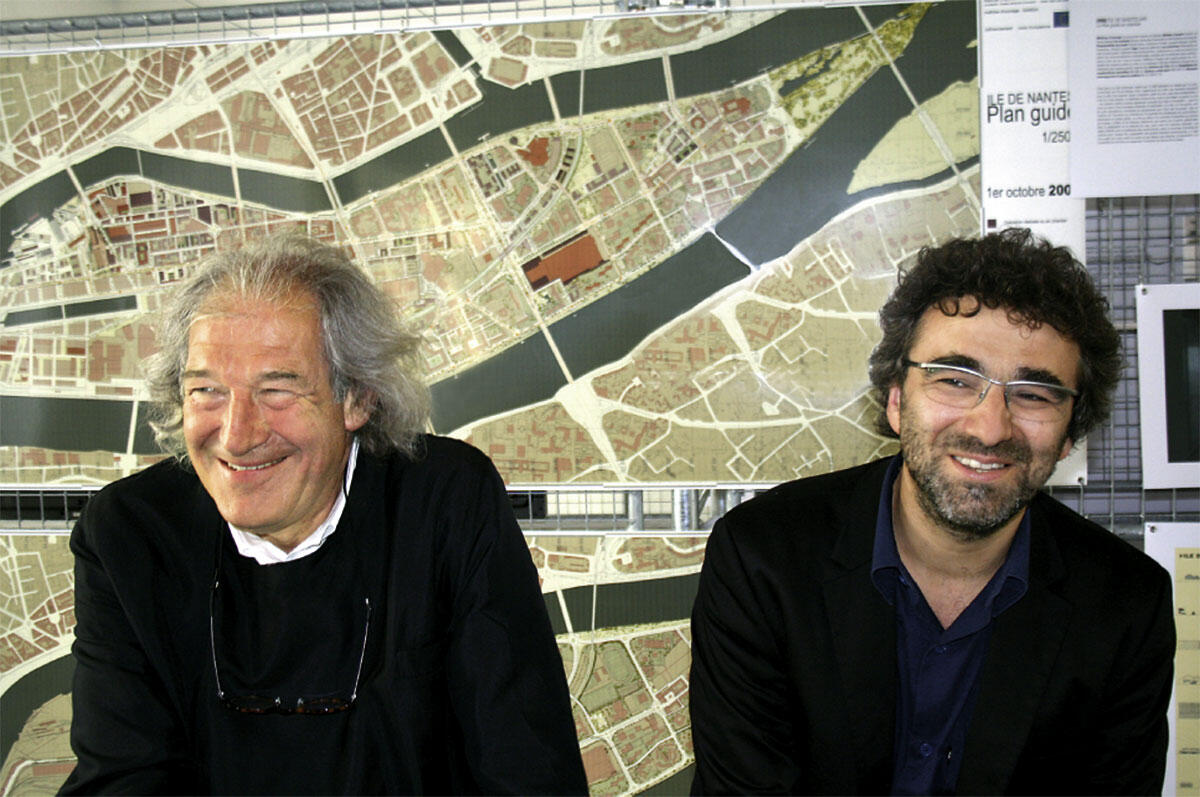 Alexandre Chemetoff (links) und Patrick Henry (rechts)
