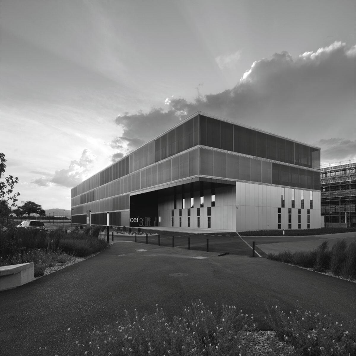CEI 3 Centre d\\'Enterprise et d\\'Innovation, Yverdon-les-Bains von bauzeit Architekten, Biel-Bienne