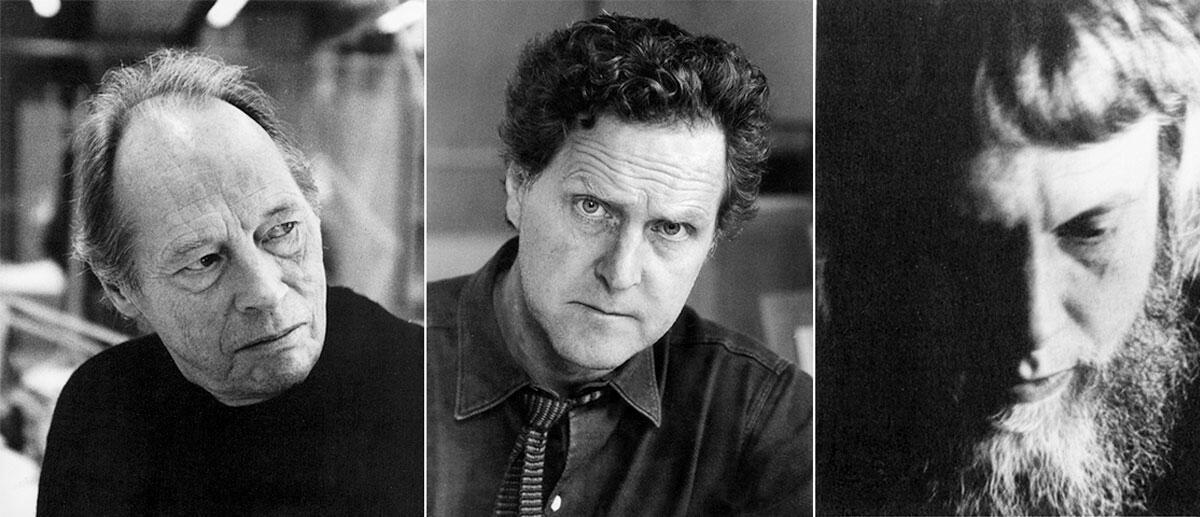 Bengt Edman, 1921–2000 (links), Klas Anshelm, 1914–1980 (Mitte) und Bernt Nyberg, 1927–1978 (rechts)