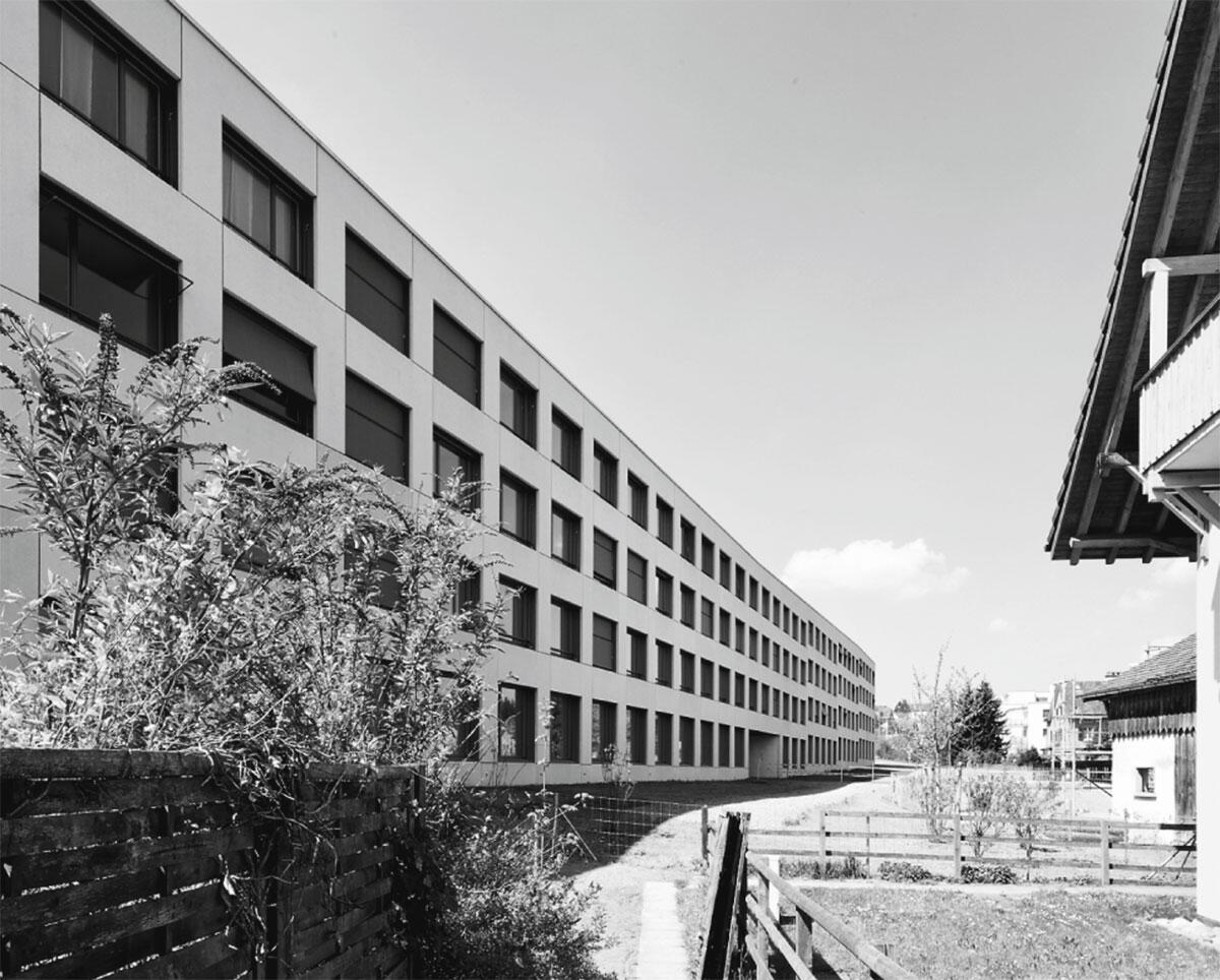 Wohnüberbauung Station Illnau in Illnau von Guignard & Sanier Architekten, Zürich