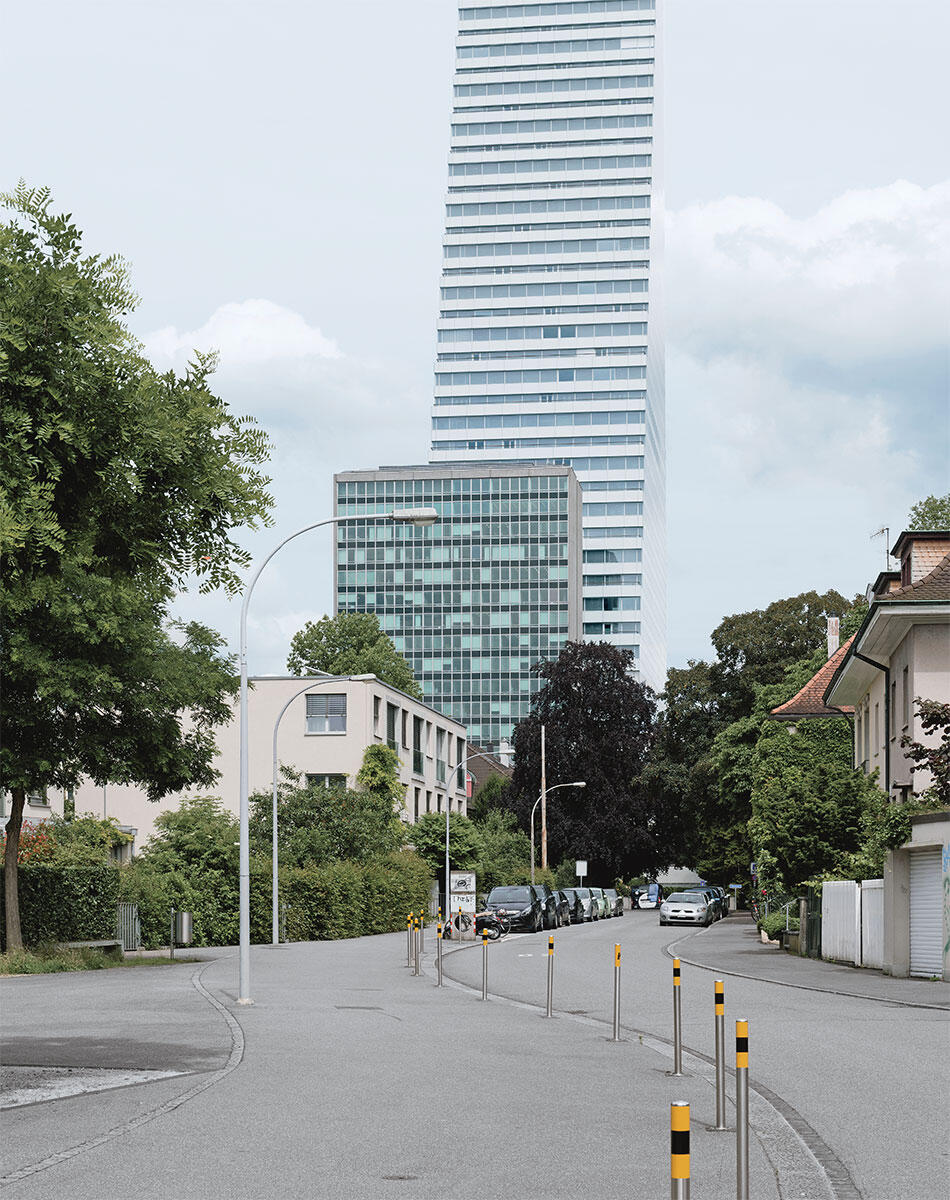 Roche Bau 1 von Herzog & de Meuron, Basel