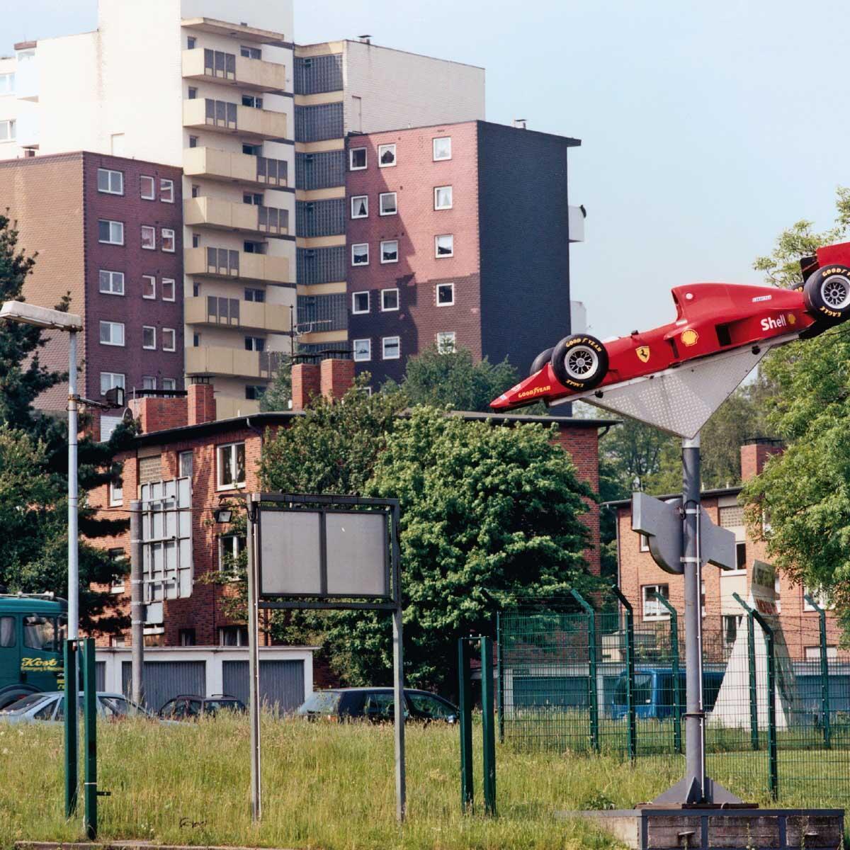 Am Rand von Herne, 2002. Bild von Peter Liedtke aus dem Pixelprojekt Ruhrgebiet