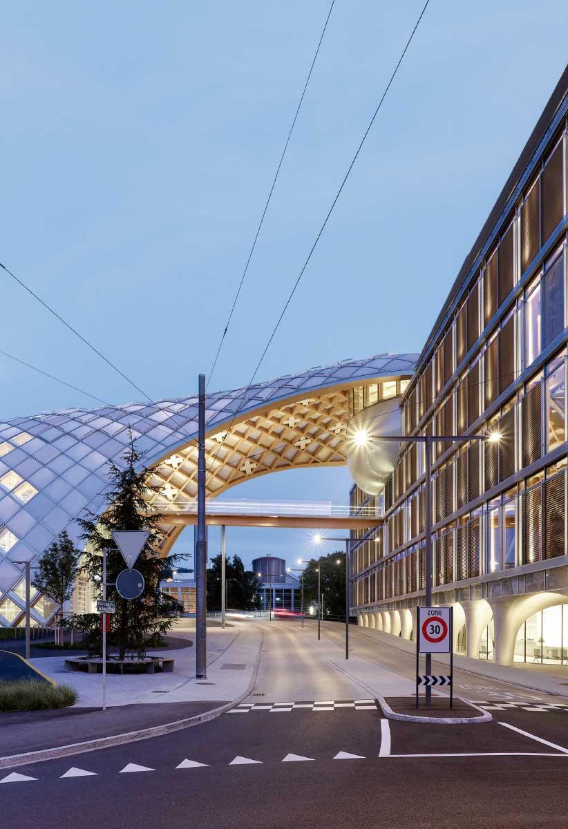 Swatch-Hauptsitz in Biel Bild: © Swatch