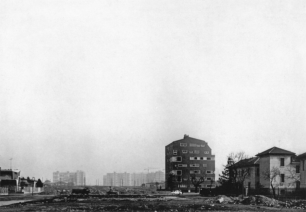 Condominio an der Piazza Carbonari Mailand 1961