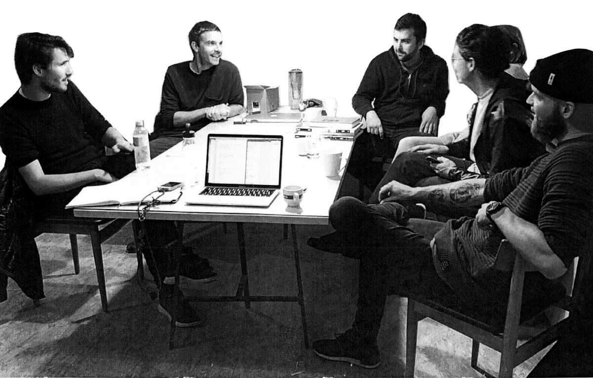 La Porch mit Laurent Chasot, Stephane Grandgirard, Vincent Mermod, Marie-Pascale Wellinger, Lucas Uhlmann, Rémy Meylan