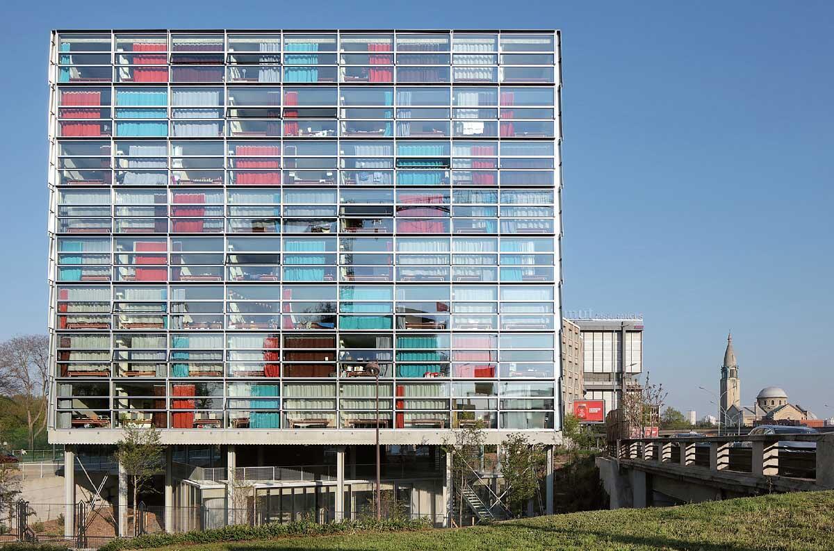 Résidence pour chercheurs, Cité Universitaire, Bruther