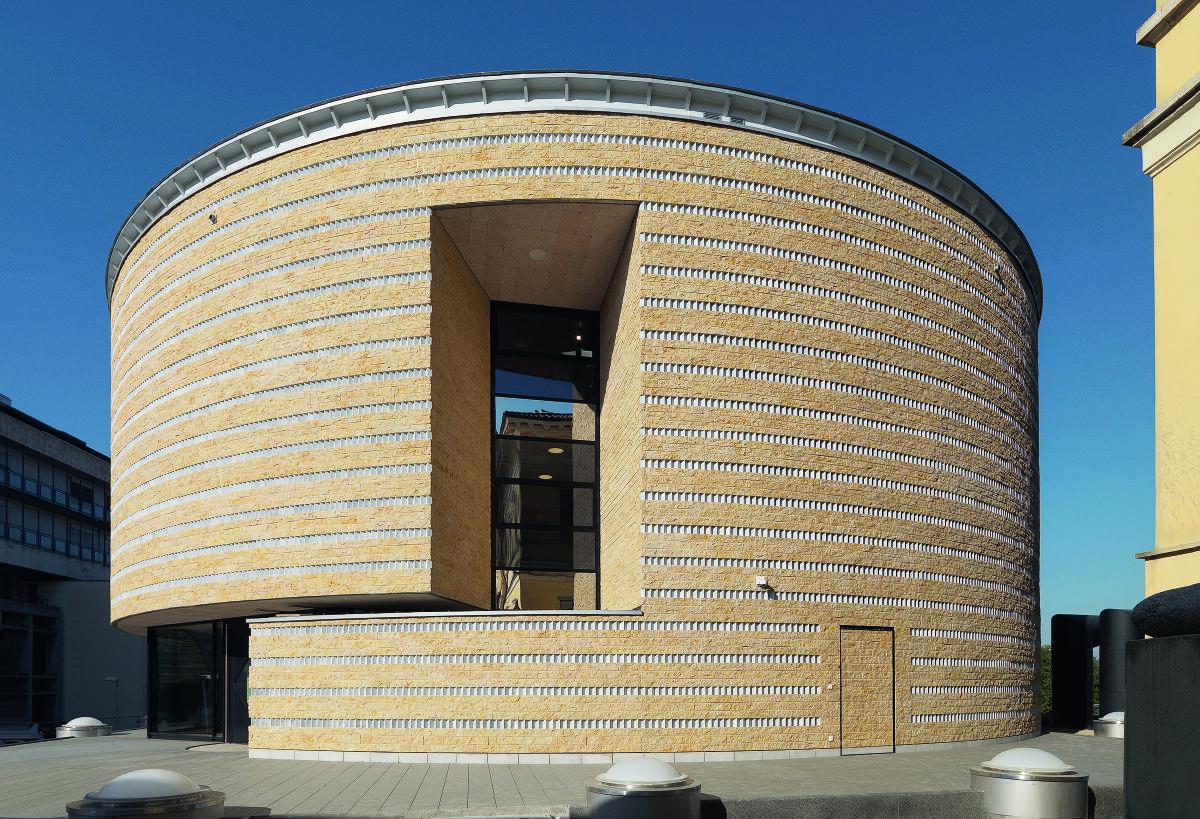 Teatro dell'architettura in Mendrisio von Mario Botta