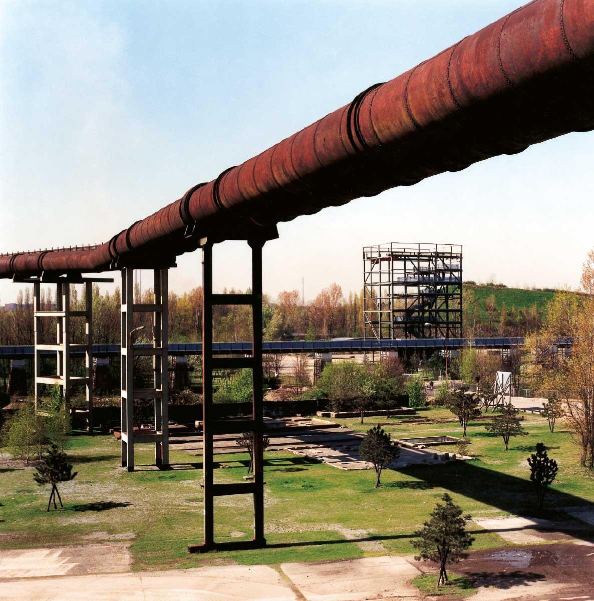 Industrieruinen als Teil des Landschaftsparks Duisburg-Nord Bild: Peter Liedtke