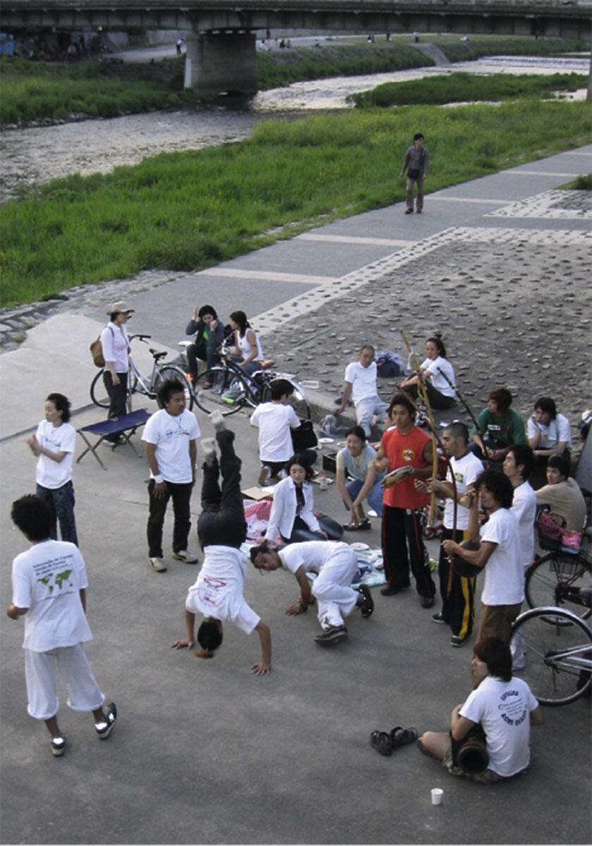 Freiraum wird Parkraum, der sich aneignen lässt: Musik- und Tanzdarbietungen.