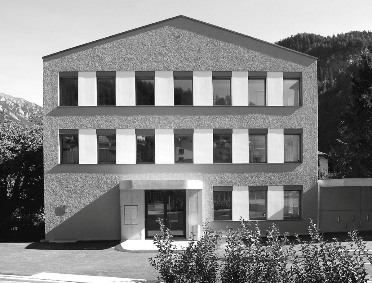Regionales Verwaltungszentrum, Thusis von Gredig Walser Architekten.