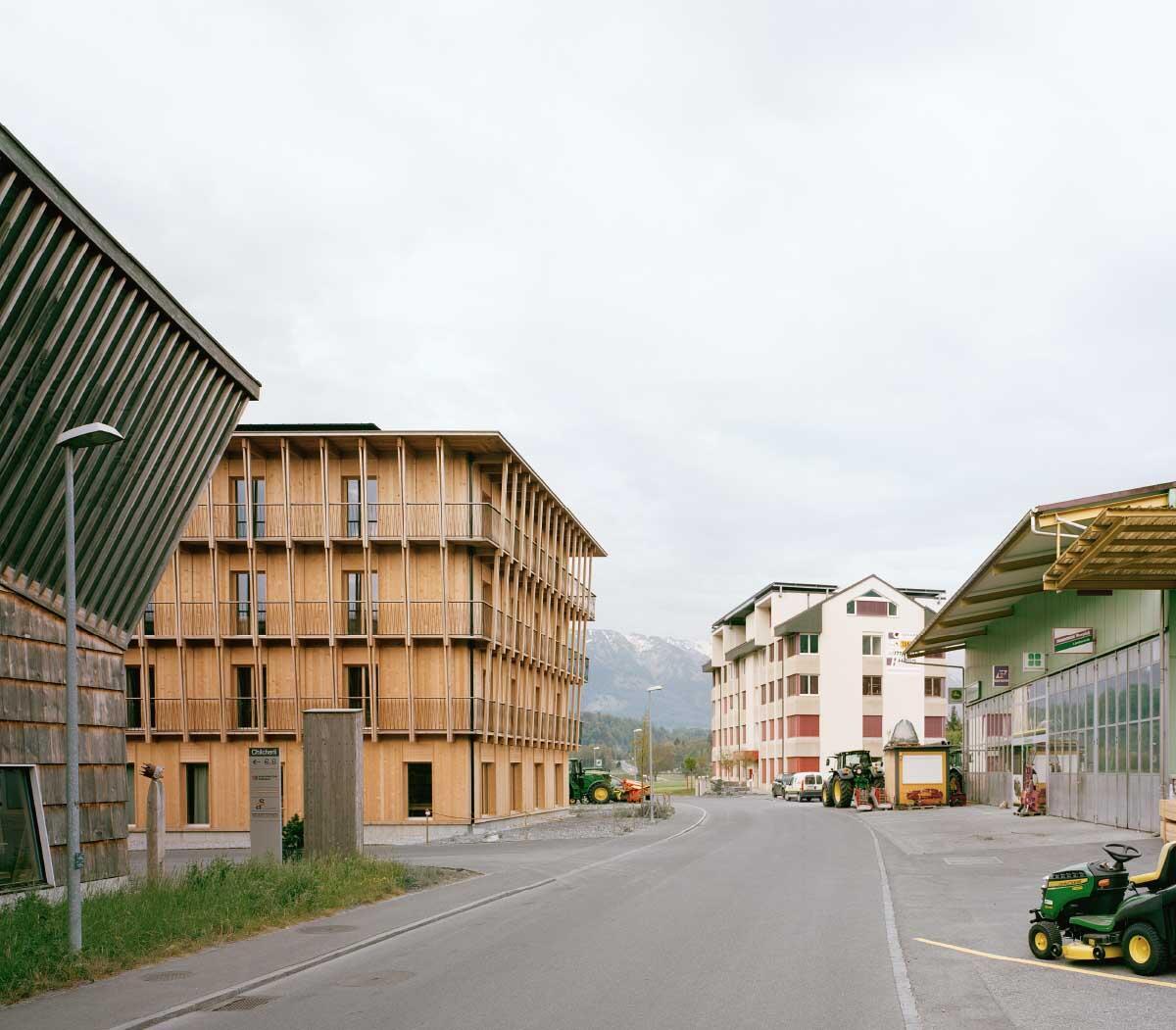 Bürohaus Küng in Alpnach Bild: Rasmus Norlander