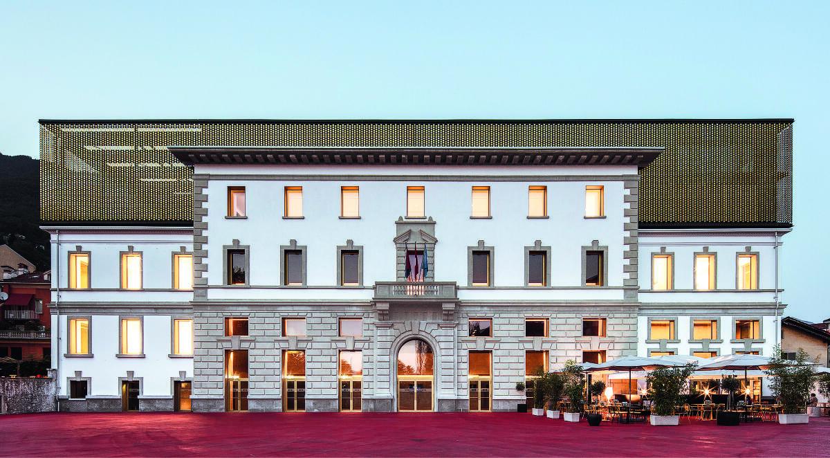 Palazzo del Cinema in Locarno von Alejandro Zaera-Polo & Maider Llaguno Bild: Giorgio Marafioti