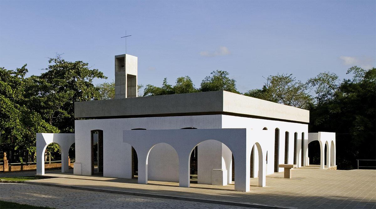 Die Kapelle Bossa Senhora da Conceicao in Recife von Paulo Mendes da Rocha.