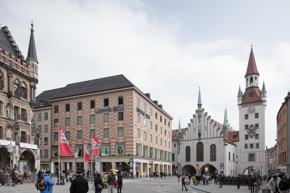 Marienplatz, München Bild: Oliver Heissner