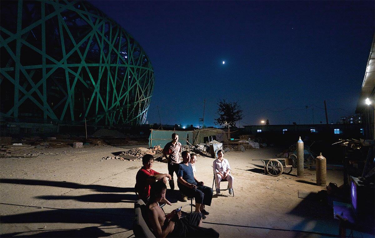 Iwan Baan, 2007. Nationalstadion Bejing, 2008, Herzog & de Meuron Bild: Iwan Baan