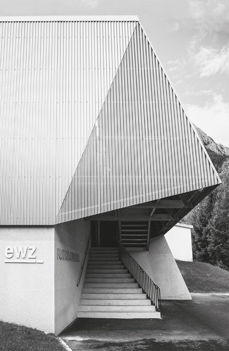 Nobilitierte Industriearchitektur. Gesamterneuerung der Werkseilbahn Albigna, Vicosorprano. Architektur: Alder Clavuot Nunzi Architekten