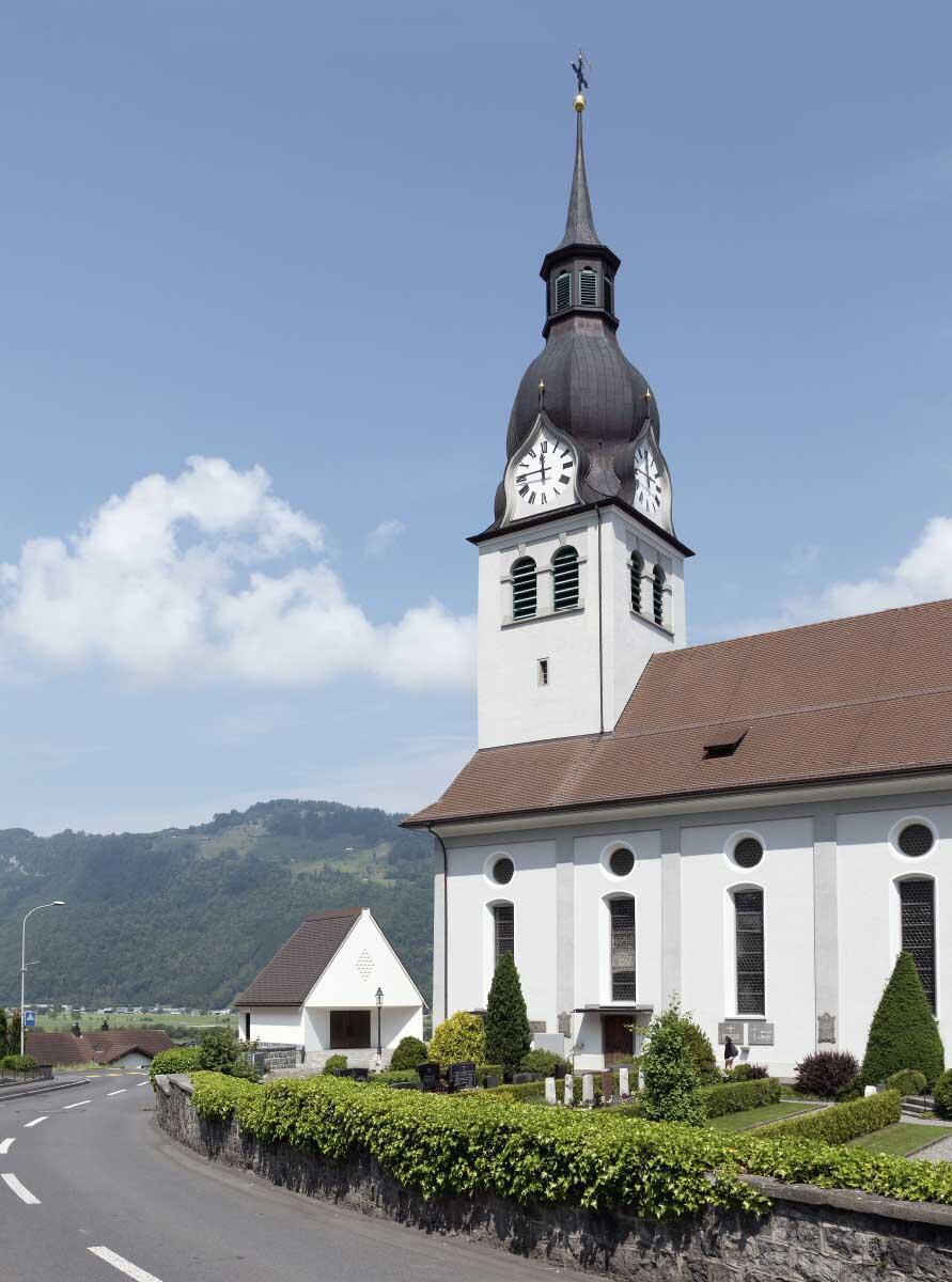 Neue Totenkapelle in Buochs NW von Seiler Linhart Architekten Bild: Rasmus Norlander