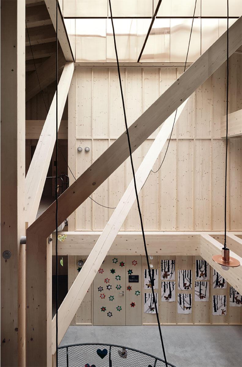 Die Struktur produziert Raum à la Kazuo Shinohara. Bild: Luis Díaz Díaz