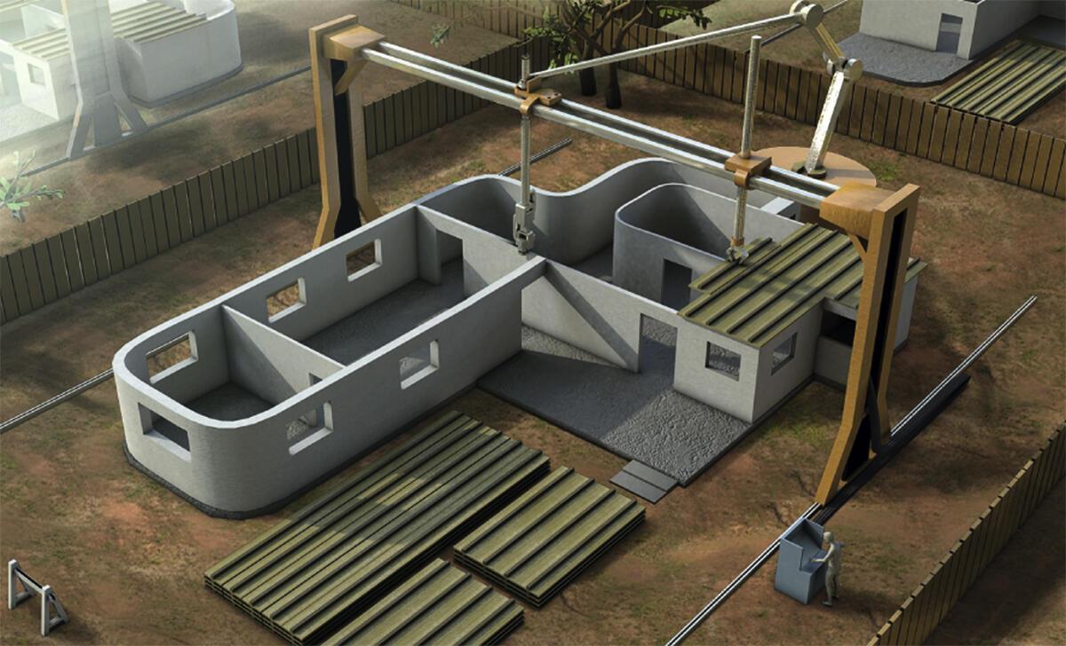 Mesh Mould: digitale Produktion von Beton-Armierungen durch 3D-Druck.