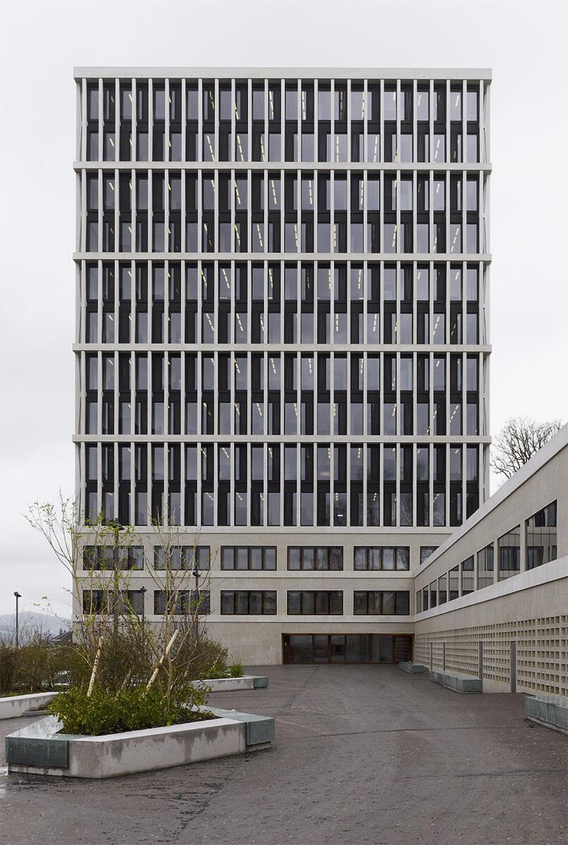 Bundesverwaltungsgericht in St. Gallen von Staufer & Hasler Architekten