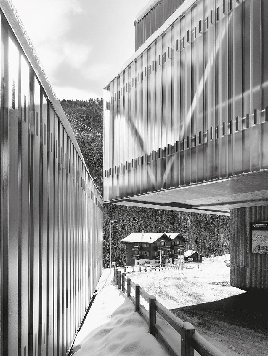 Bergstation Sorebois in Grimentz von Geninasca Delefortrie Architectes