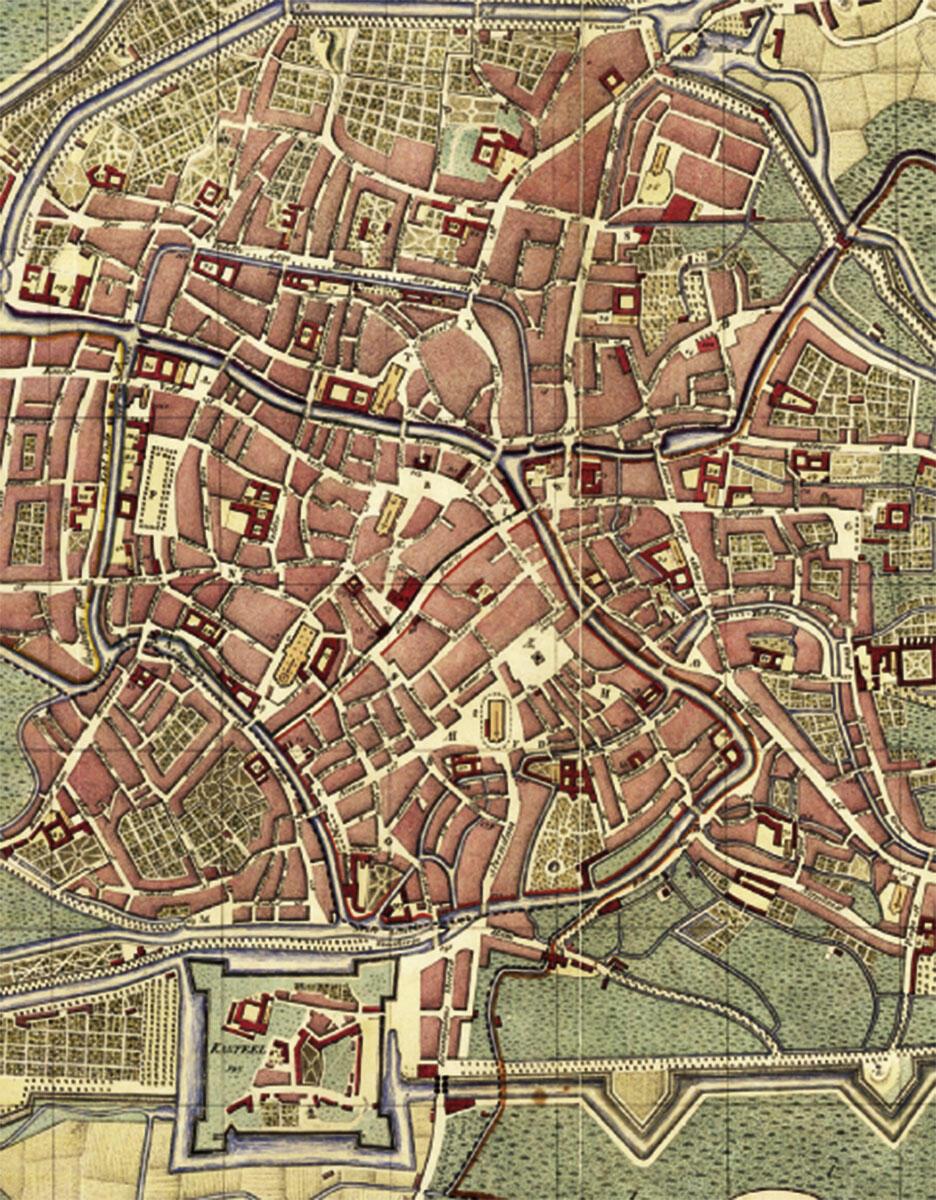 Stadtplan Goethals von 1796