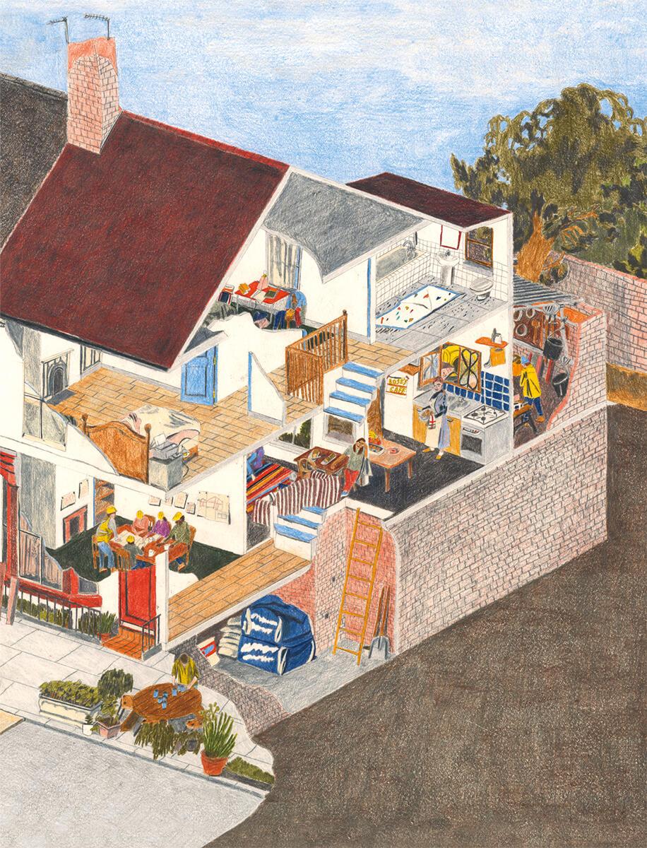 Aus der verbliebenen Bausubstanz der Terraced Houses im Quartier Granby in Liverpool soll mittels Wiederherstellung und sorgfältiger Neuinterpretation der überaus beliebten Wohntypologie eine Belebung des ganzen Quartiers angestossen werden.