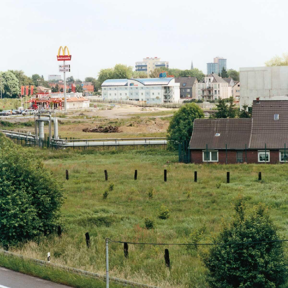 Am Rand von Herne, 2002. Bilder von Peter Liedtke aus dem Pixelprojekt Ruhrgebiet