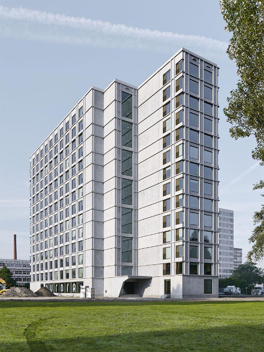 Studentenwohnhaus in Eindhoven von Office Winhov und Office Haratori. Bild: Stefan Müller