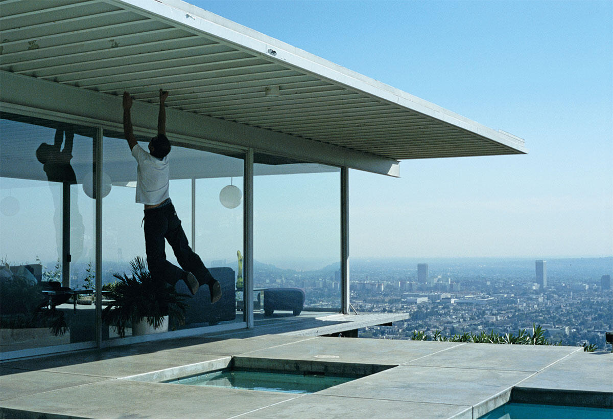 Alex Hartley, (aus der Serie LA Climbs), 2003.
