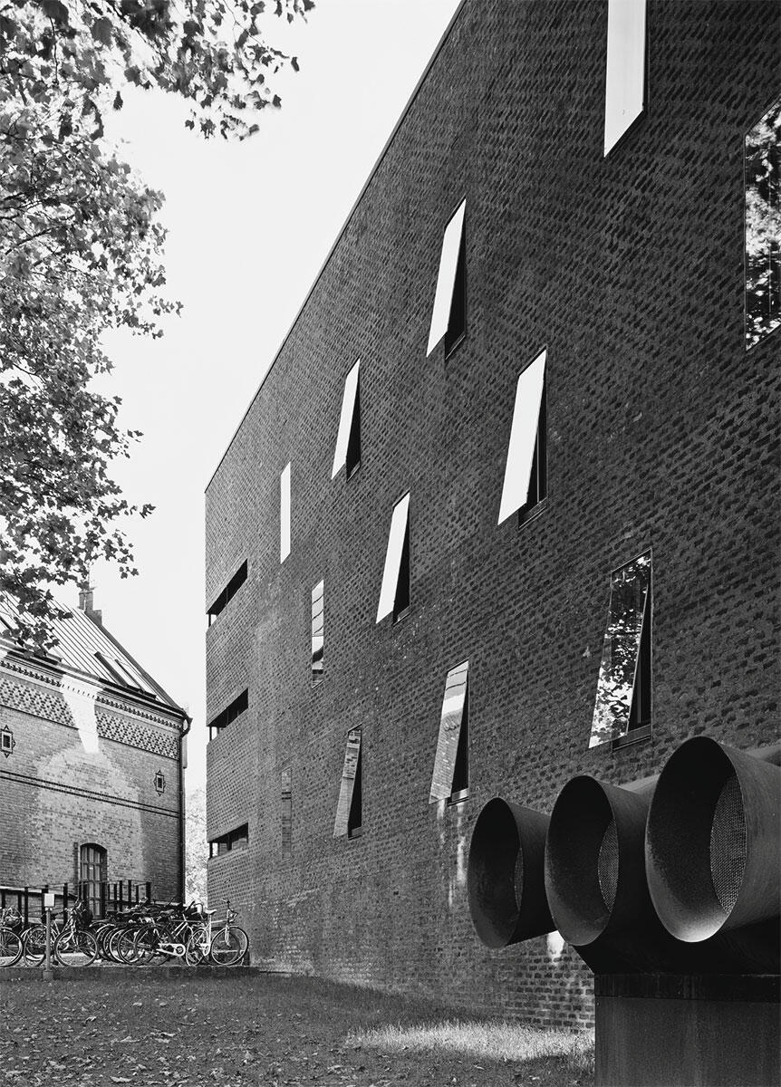 Bernt Nyberg, Landesarchiv Lund (1971), umgebaut als Studentenhaus 2014