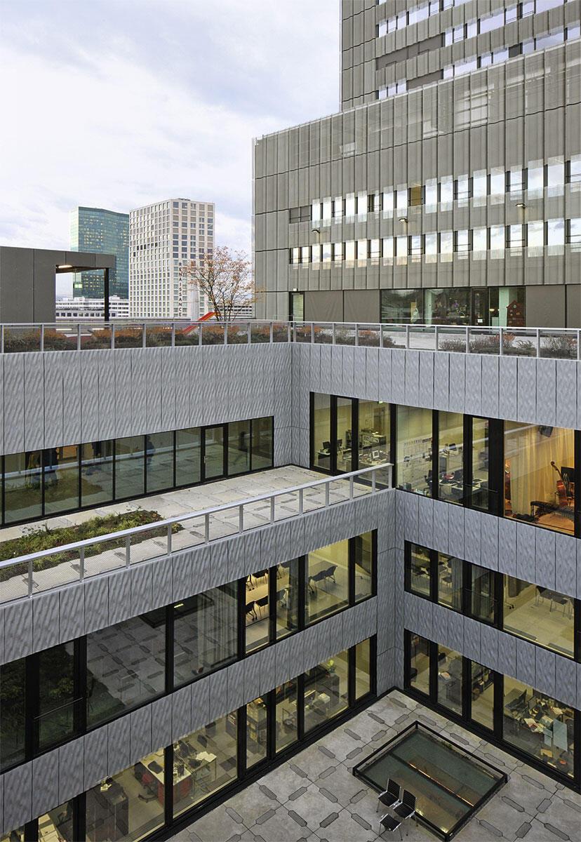 Toni-Areal, Zürich. Hochschule von EM2N.