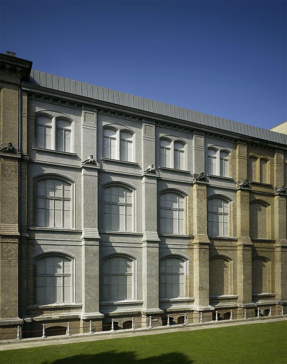 In Stand gesetzter Ostflügel des Naturkundemuseums Berlin von Diener & Diener