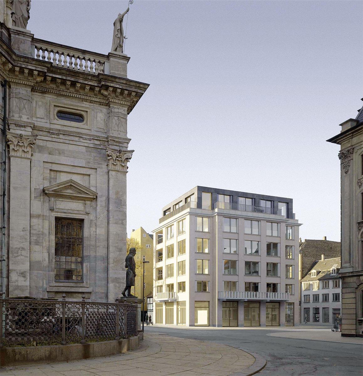 Das Gebäude von Tony Freetown Architects in der majestätischen Umgebung bietet städtische Lebendigkeit.