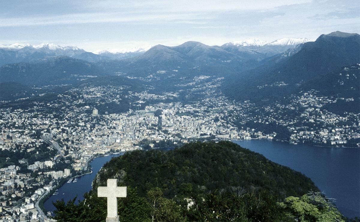 Die Stadtregion Lugano gehört zu den stark wachsenden Alpenregionen, denen auch in Zukunft ein weiteres Wachstum prognostiziert wird.
