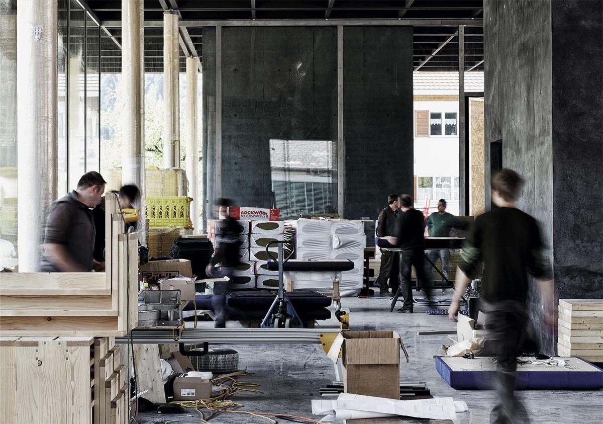 Das Werkraum-Haus ist eine Visitenkarte des eigenen Schaffens: 42 lokale Handwerksbetriebe waren beim Bau involviert.