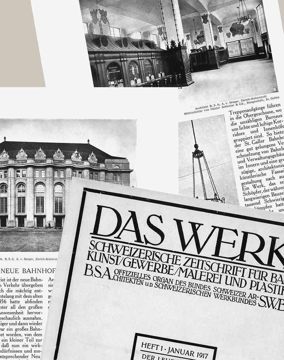 Eine Zeitreise: 100 Jahre Werk, Zeitschrift für Architektur und Städtebau