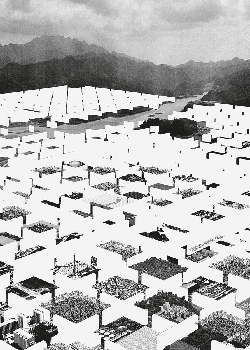 Dogma + Office KGDVS, City Walls, Vorschlag für die neue multifunktionale Verwaltungsstadt, Südkorea 2005.
