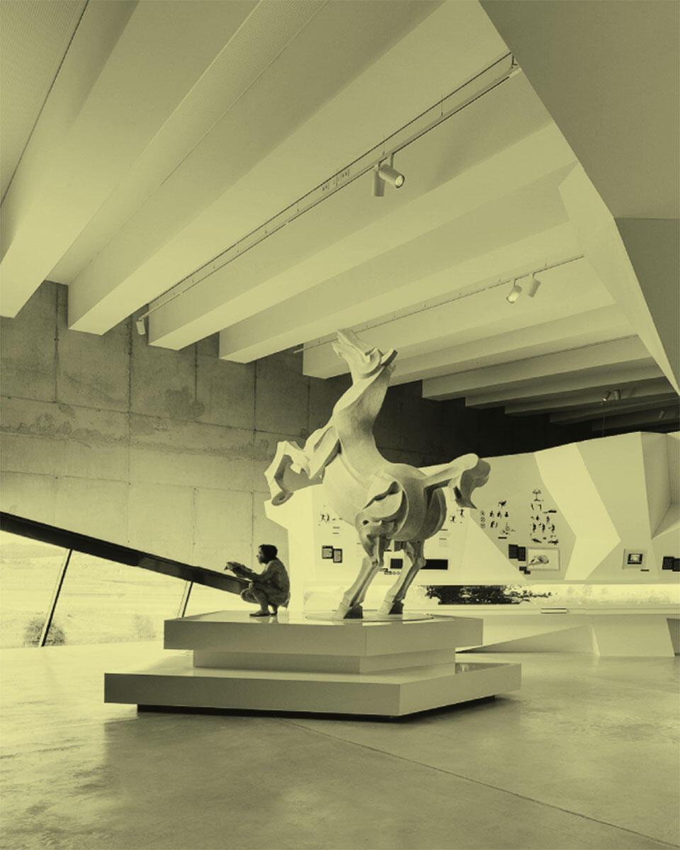 Paläon – Forschungs- und Entwicklungszentrum Schöninger Speere, Dauerausstellung (2013), Schönlingen (D).