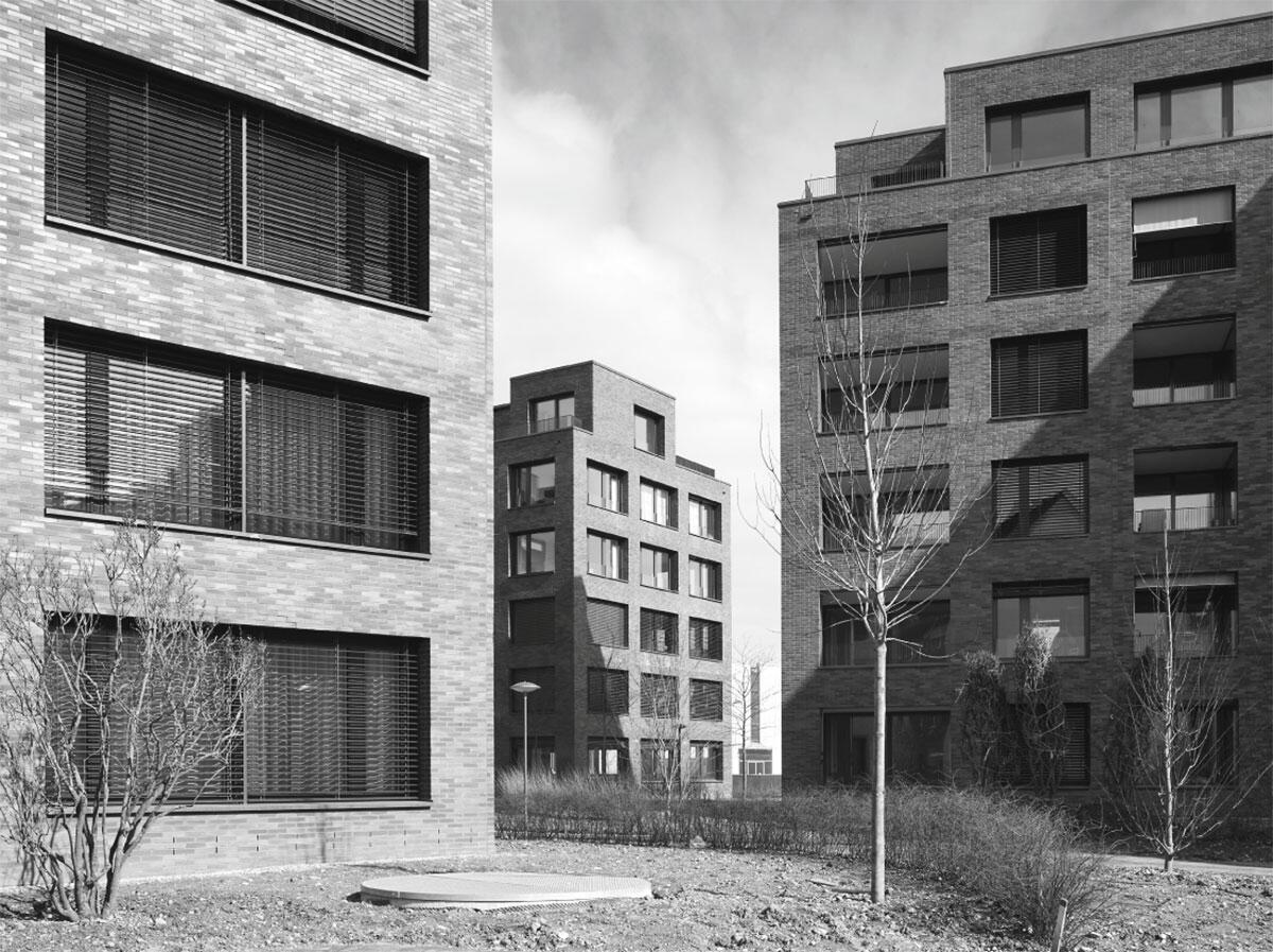 Wohnüberbauung Densa Park in Basel von Luca Selva Architekten