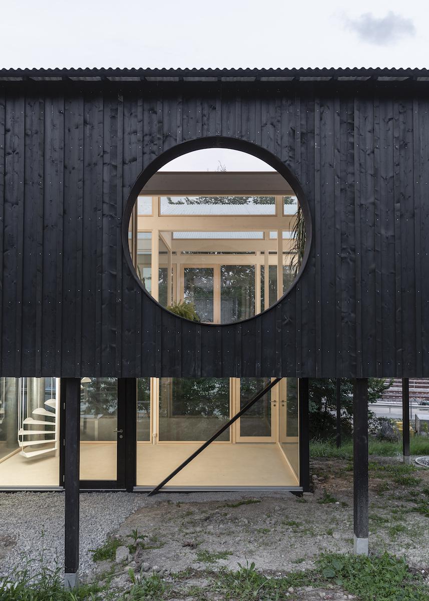 An eco-friendly lightweight timber construction