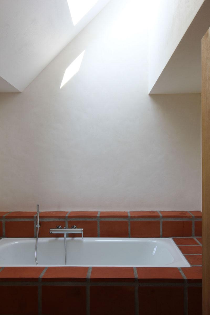 Raumerweiterung vom Bad in den Dachstock