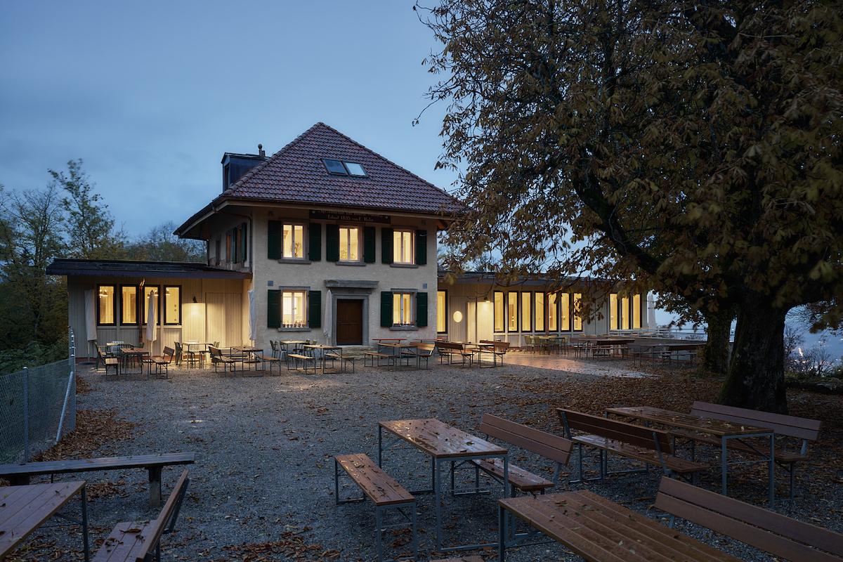 Abendstimmung auf der Lägern Hochwacht