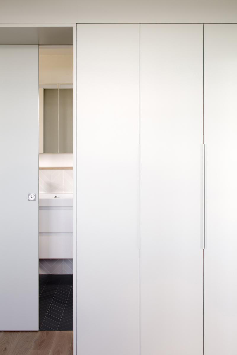 Dressing et salle de bain