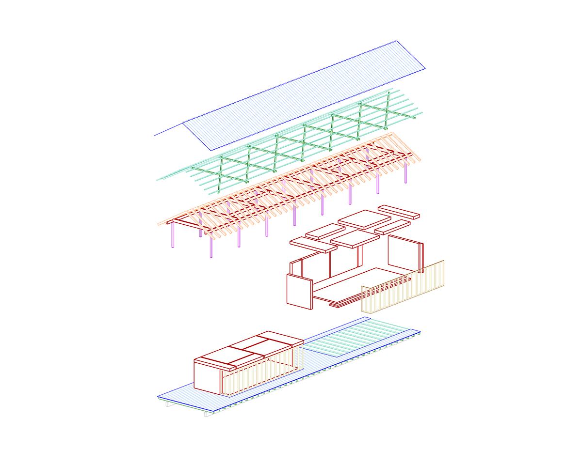 Mehr werk jas junge architektinnen schweiz werk bauen for Architektur axonometrie