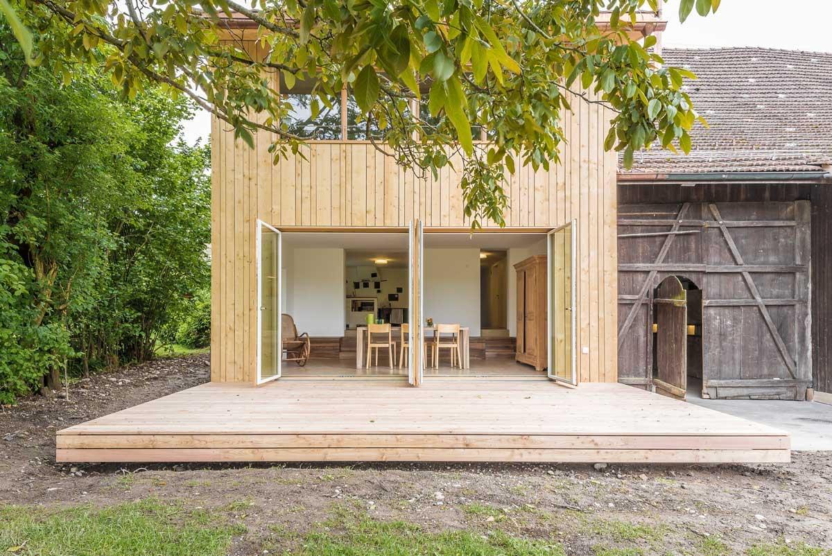 mehr werk jas junge architektinnen schweiz werk bauen wohnen. Black Bedroom Furniture Sets. Home Design Ideas