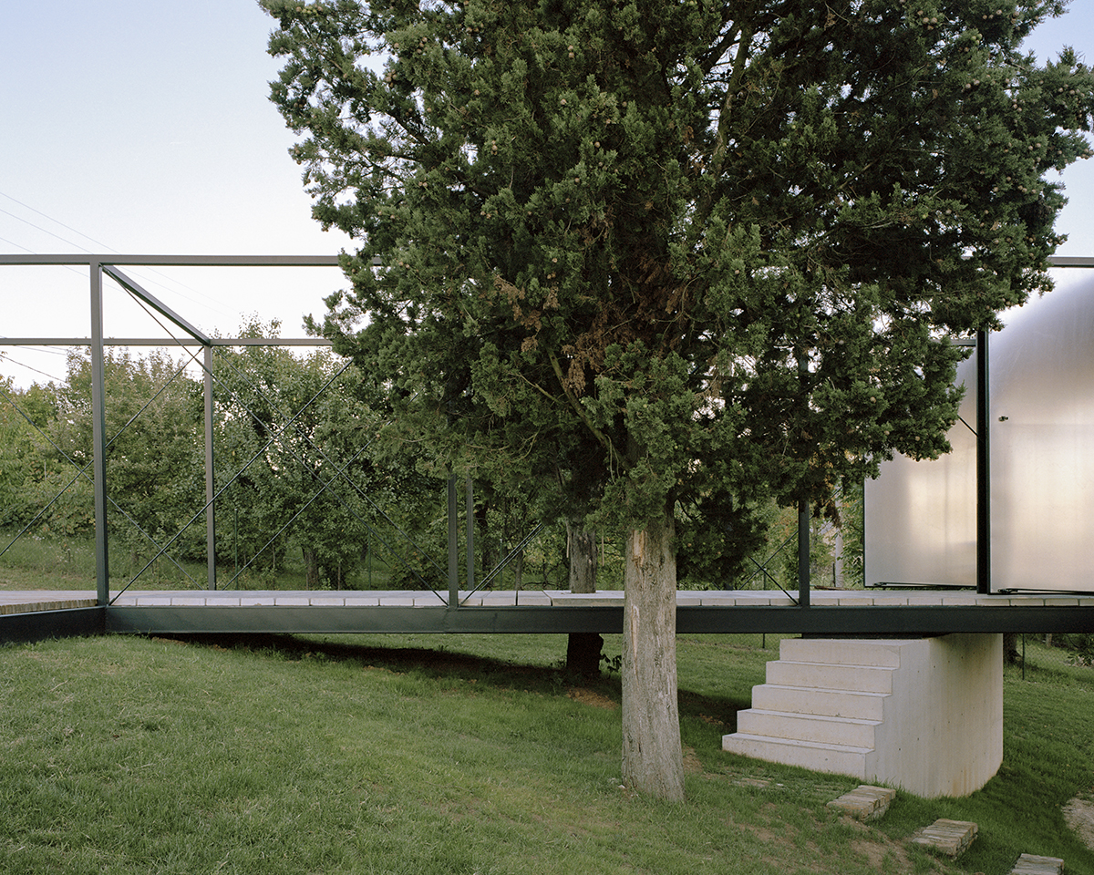 """The """"courtyard"""" with a variety of usage fields, Picture: Maxime Delvaux"""