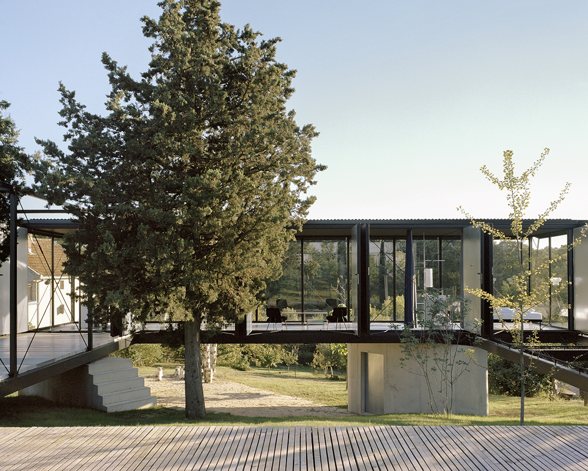 Not Philip Johnson's Glass House, Picture: Maxime Delvaux